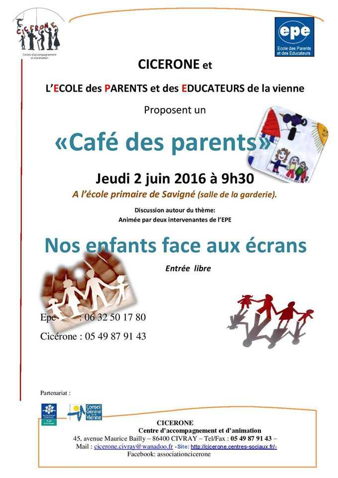 affiche café parents 2 juin